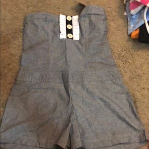 Pants - Strapless Romper